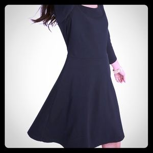 2 old navy black fit and flare dresses